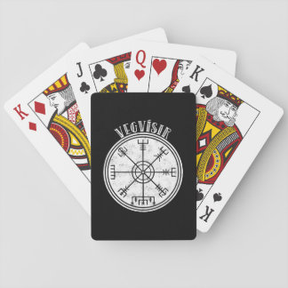 VEGVISIR  Icelandic compass Stave Playing Cards
