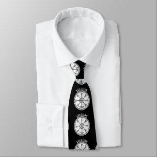 VEGVISIR  Icelandic Magical Stave Tie