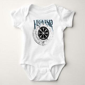 vegvisir nordic pathfinder compass baby bodysuit
