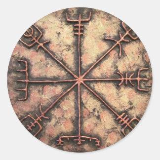 Vegvisir Round Sticker