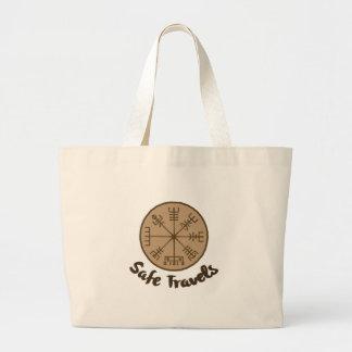 Vegvsir Stave Sigil Large Tote Bag