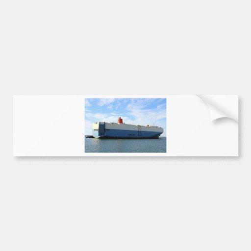 Vehicle carrier cargo ship 4 bumper sticker