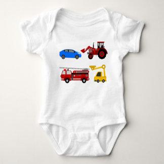 Vehicles Vest Baby Bodysuit