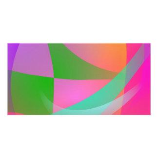Veil of Wind Custom Photo Card