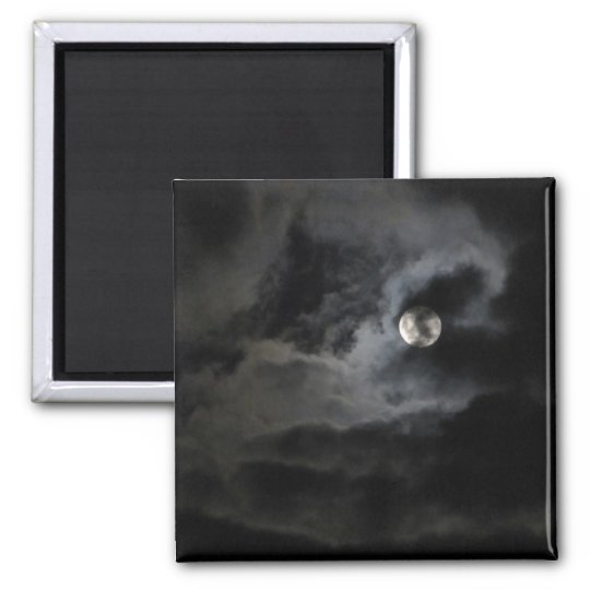 Veiled Moon Magnet