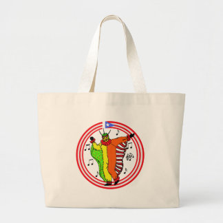 Vejigante Large Tote Bag