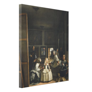Velázquez Las Meninas Gallery Wrap Canvas