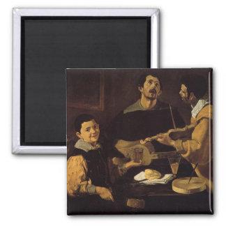 Velazquez - Three Musicians Magnet