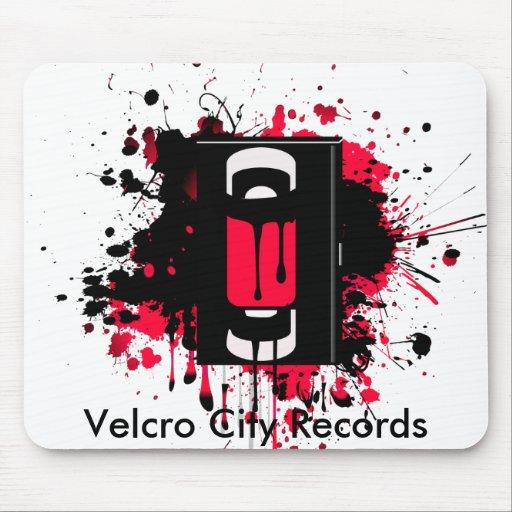 Velcro City Records Mousepad