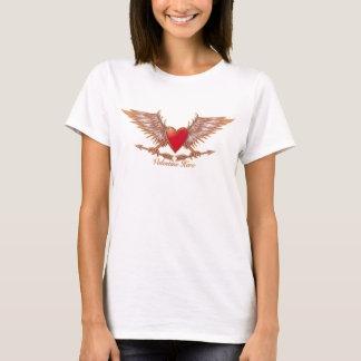 Velentine hero -female tshirt