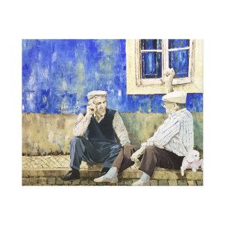 Velhos Amigos Canvas Print