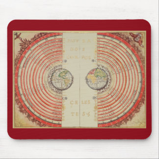 Velho's Geocentric Model of the Universe Mouse Pad