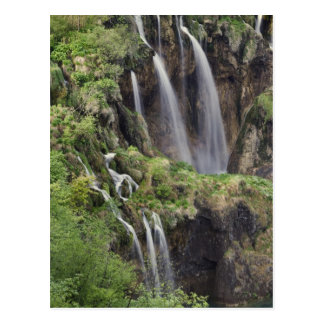 Veliki Slap (Waterfall) Plitvice Lakes National Postcard