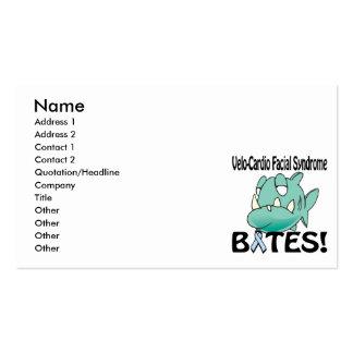 Velo-Cardio Facial Syndrome BITES Business Card Templates