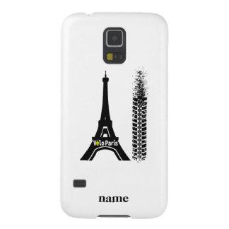 Velo Paris Bike Eiffel Tower Galaxy S5 Cases