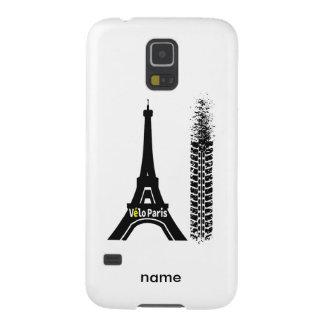 Velo Paris Bike Eiffel Tower Galaxy S5 Covers