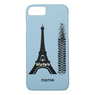 Velo Paris Bike Eiffel Tower iPhone 7 Case