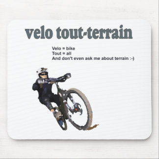 Velo Tout-Terrain Mouse Pads