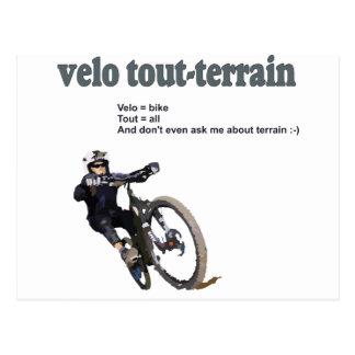 Velo Tout-Terrain Postcard