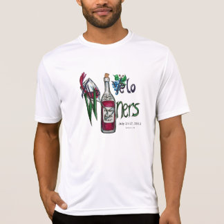 Velo Winers Cyclists Bon Ton 2013-NAMES ON BACK T-Shirt