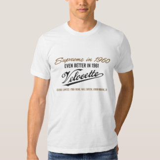 velocette shirts