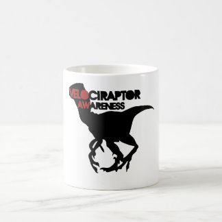 velociraptor awareness coffee mug