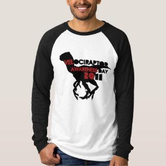 Velociraptor Awareness Day 2011 Tshirt