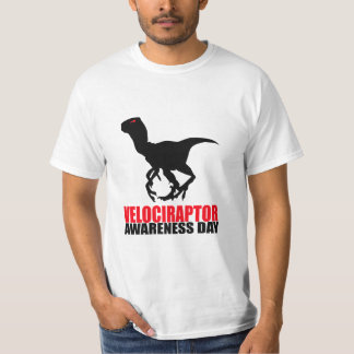 Velociraptor Awareness Day T-Shirt