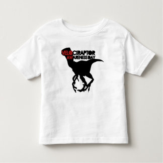 Velociraptor Awareness Day Toddler T-Shirt