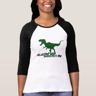 Velociraptor Awareness Day T-shirt