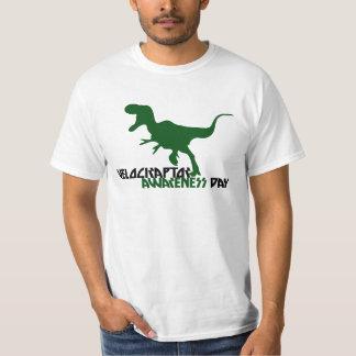 Velociraptor Awareness Day Tshirt