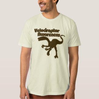 Velociraptor awareness tees
