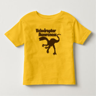 Velociraptor awareness toddler T-Shirt