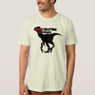 velociraptor awareness tshirt