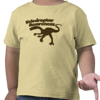 Velociraptor awareness tee shirt