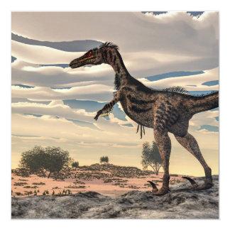 Velociraptor dinosaur - 3D render Card