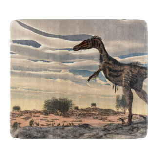 Velociraptor dinosaur - 3D render Cutting Board