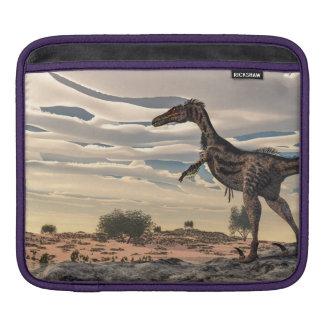 Velociraptor dinosaur - 3D render iPad Sleeve