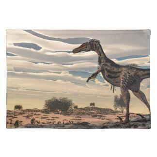 Velociraptor dinosaur - 3D render Placemats