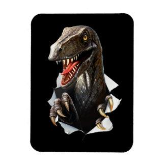 Velociraptor Dinosaur Flexi Magnet
