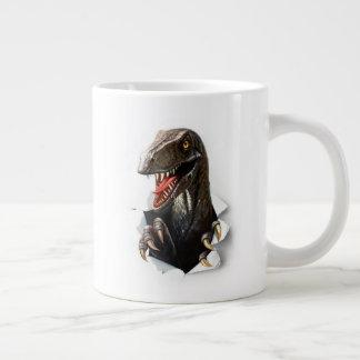 Velociraptor Dinosaur Jumbo Mug