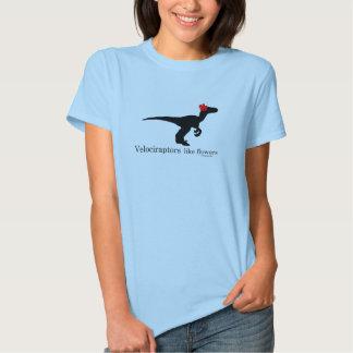 Velociraptors like flowers T-Shirt