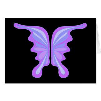 Velvet Art Purple Butterfly Party Invitation