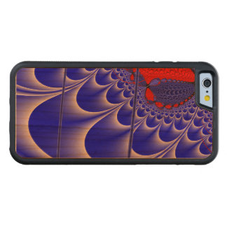 Velvet C Fractal Cherry iPhone 6 Bumper
