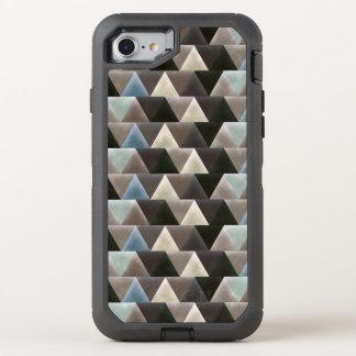 Velvet Geometric Elegant Triangles Modern OtterBox Defender iPhone 8/7 Case