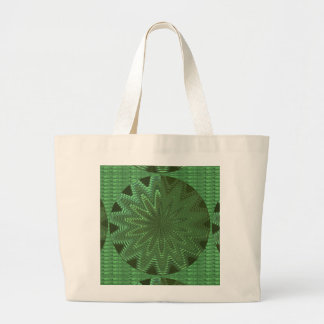 VELVET Green Sparkle Star Gifts - LOWPRICE STORE Canvas Bag