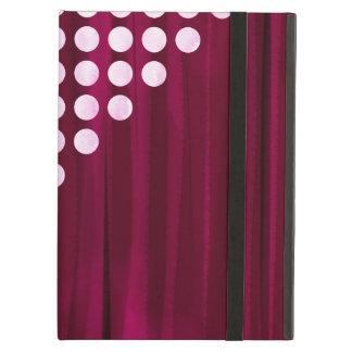 Velvet Polka dot Pattern iPad Air Cover