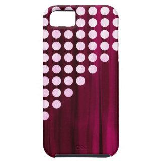 Velvet Polka dot Pattern iPhone 5 Covers
