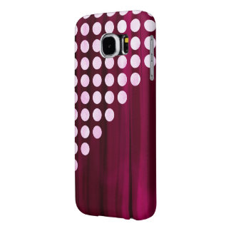 Velvet Polka dot Pattern Samsung Galaxy S6 Cases