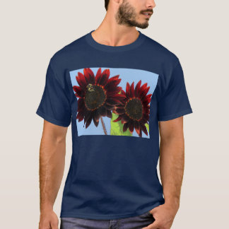 Velvet Queen Sunflowers T-Shirt